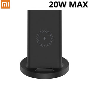 Xiaomi Vertical Wireless Charger Stand 20W Max Qi Quick Fast Charge Phone Stand For iPhone For Samsung S10 For Mi 9 Mi 9 Pro