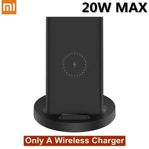 Original Xiaomi Wireless Charger Qi Quick Fast Charge 20W MAX For Mi 9 MIX 2S 3 Qi EPP10W For iPhone XS XR XS MAX For Samsung 5W