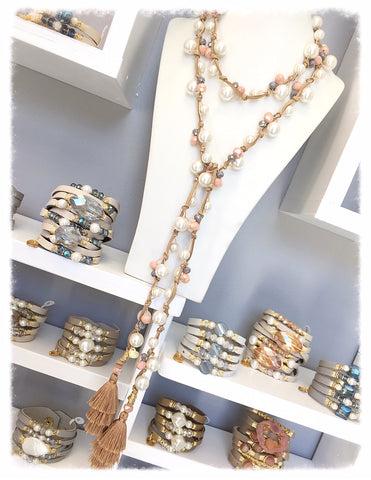 Long Necklaces and Lariats