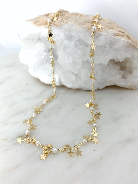 Dangling Stars Necklace