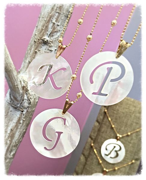Large Letter Necklace