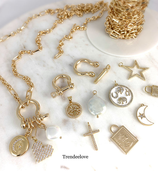 Design Your Own Multi-Charm Necklace