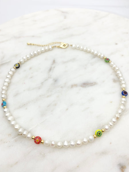 Carnaval Pearl Necklace