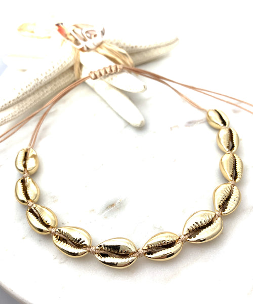 Shell Choker - Gold
