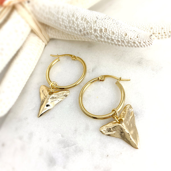 Shark Tooth Hoops