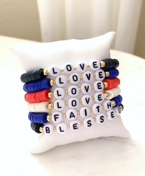 Colorful Vinyl Bracelets