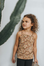 Load image into Gallery viewer, Youth Fitted Tank | Leopard