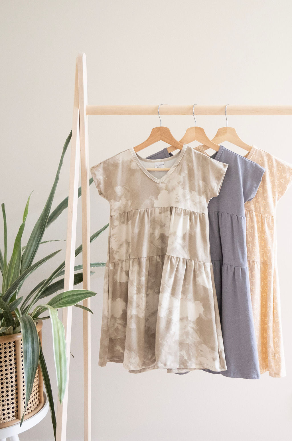 Youth Double Ruffle Dress | Sandstorm