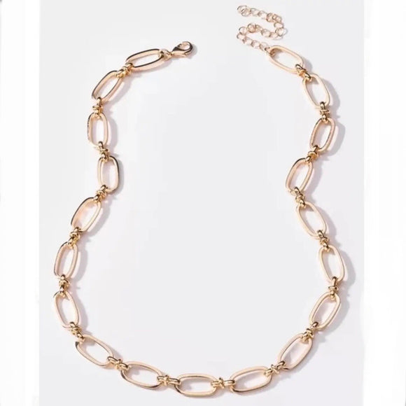 Boxy Chain Necklace