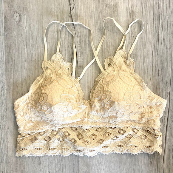 Plus Lace Bralette