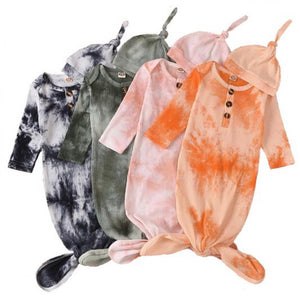 Tie Dye Infant Gown