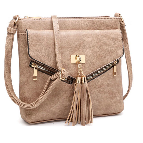 Tassel Crossbody Purse