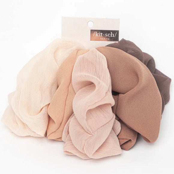 Crepe Scrunchie Set