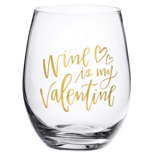 Decorative Wine Glass