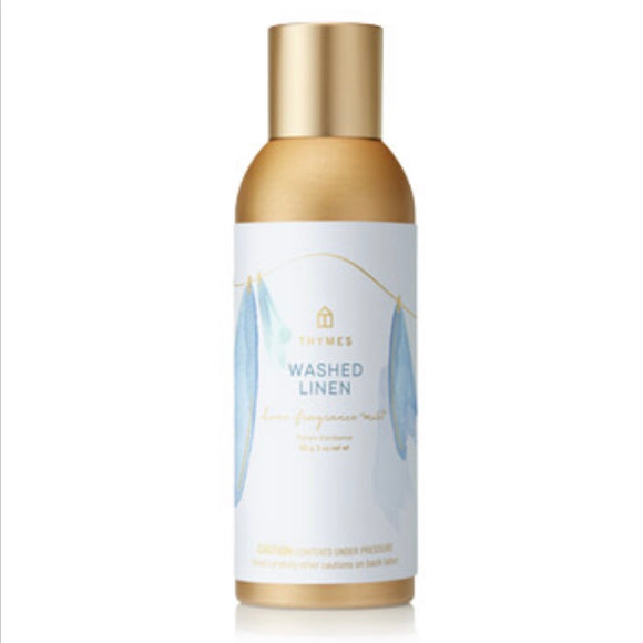 Thyme Washed Linen Home Fragrance Mist