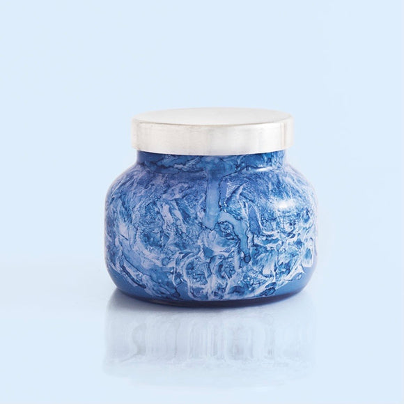 Blue Jean Watercolor Petite Jar Candle