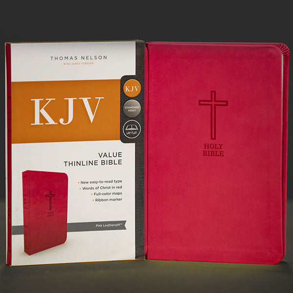 KJV - Value thin line Bible - Pink