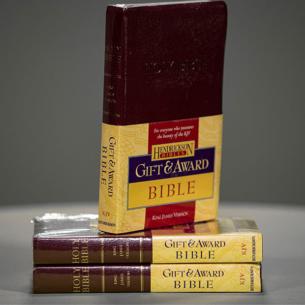 KJV - Gifts and Awards Bible - Burgundy