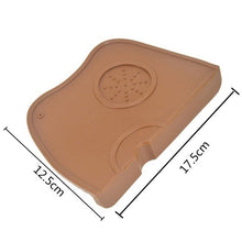 Load image into Gallery viewer, Barista Coffee Anti-skid Mat Espresso Latte Art Pen Tamping Holder Pad Coffeeware Tampers Coffee Grind Soft Silicone Mat#6