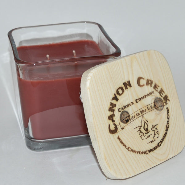 Autumn Walk 14oz cube jar candle