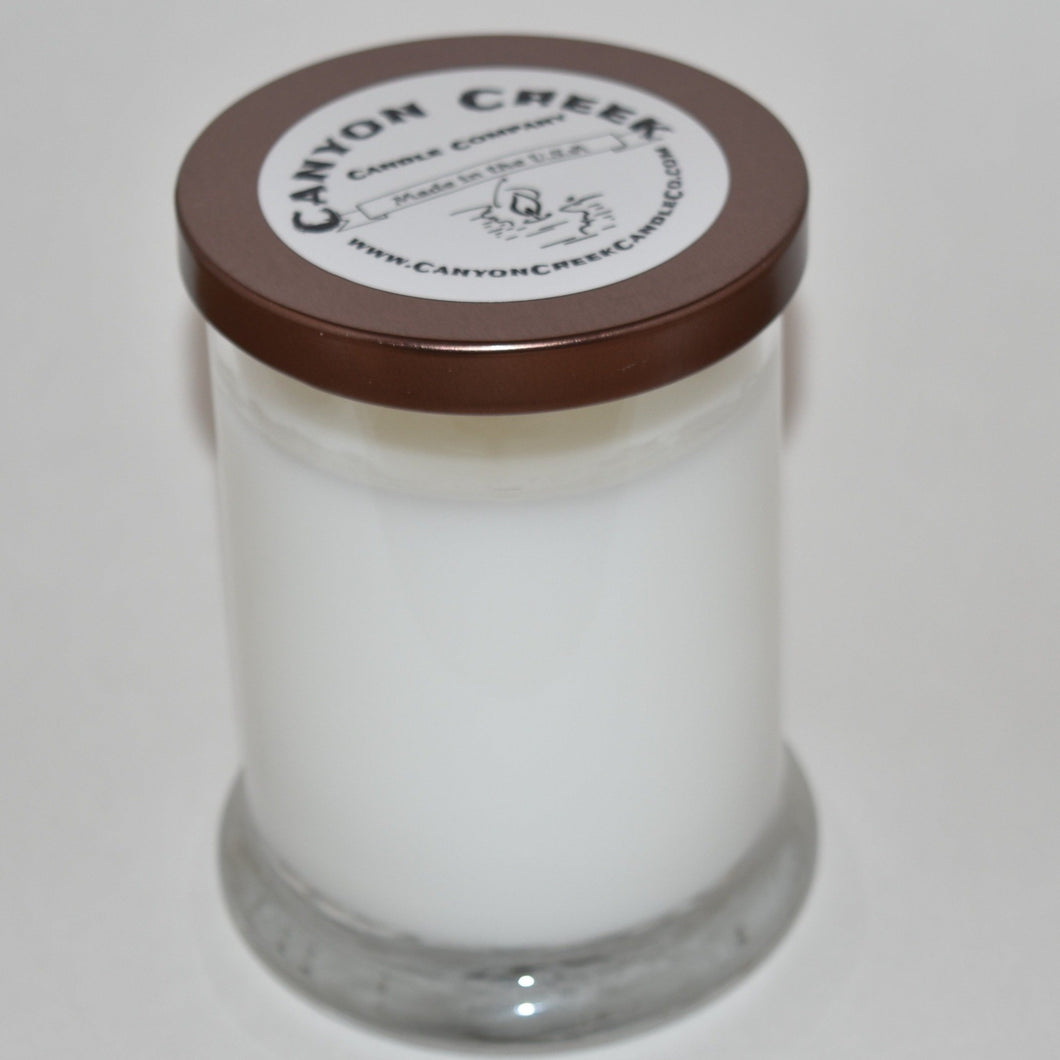 Candy Cane 8oz jar candle