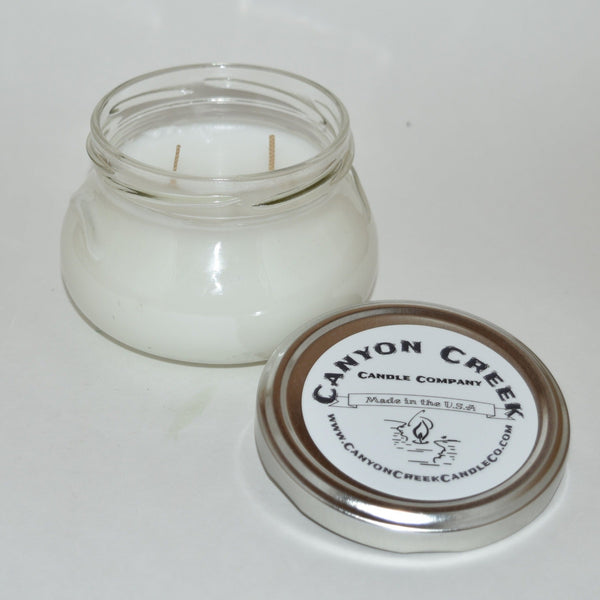 Erin's Ambiance Unscented 6oz jar candle