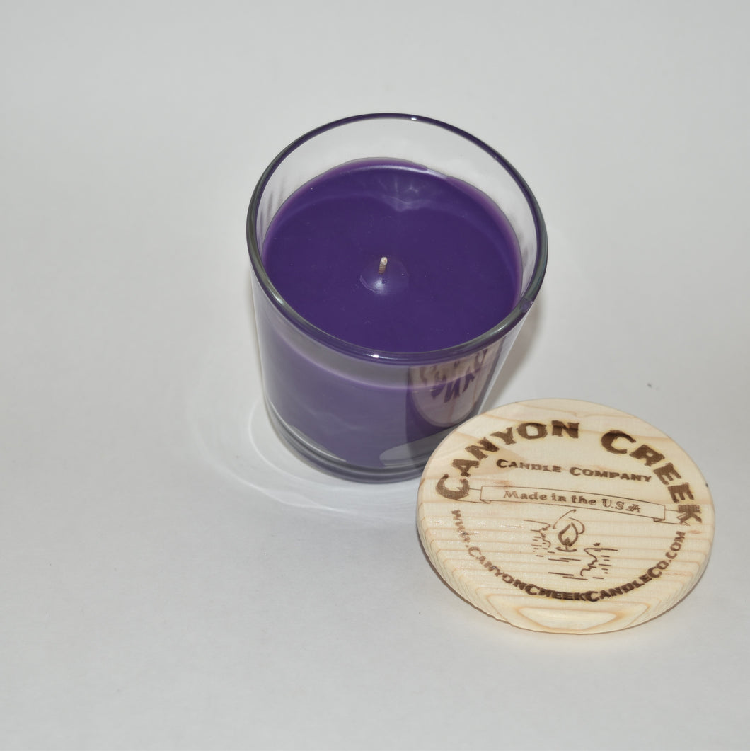 French Lilac 8oz tumbler jar candle