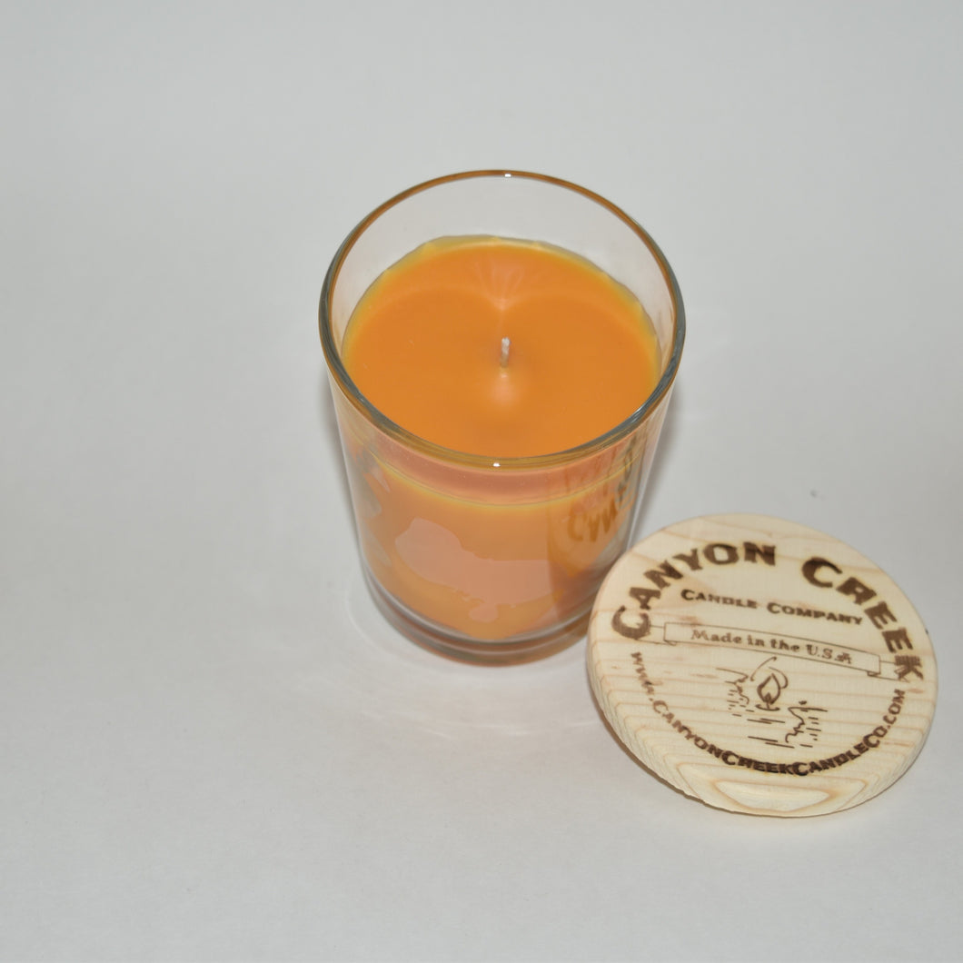 Orange Blossoms 8oz tumbler jar candle
