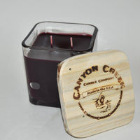 Black Cherry Merlot 14oz cube jar candle