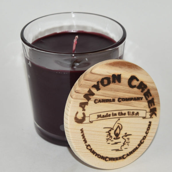 Black Cherry Merlot 8oz tumbler jar candle