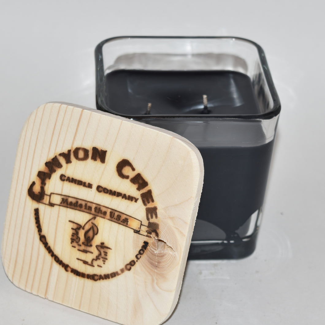 Dad's Garage 14oz cube jar candle