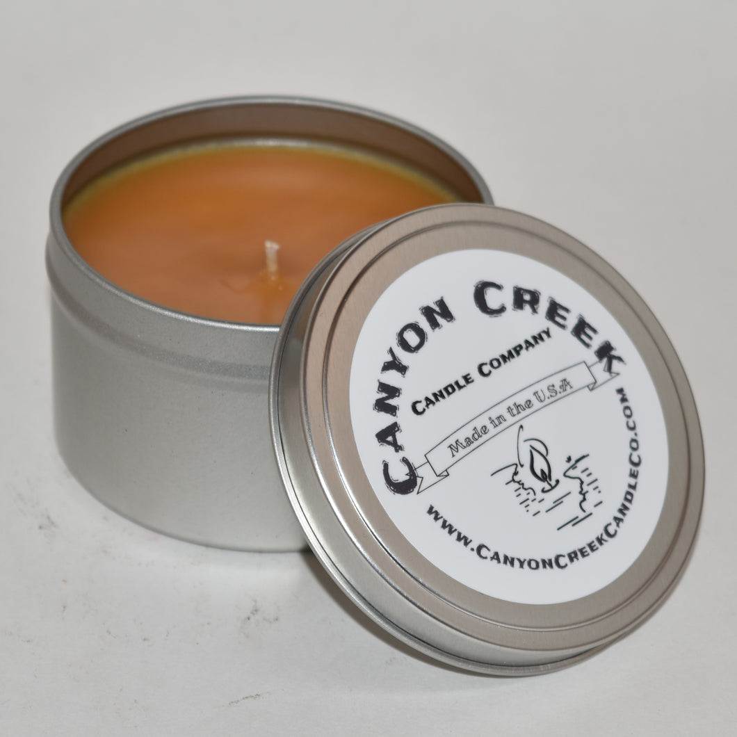 Orange Blossoms 6oz tin Fundraiser candle