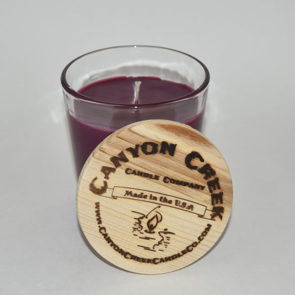 Huckleberry Wine 8oz tumbler jar candle