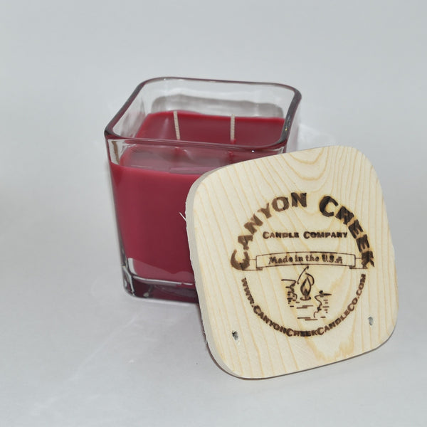 Mulberry 14oz cube jar candle