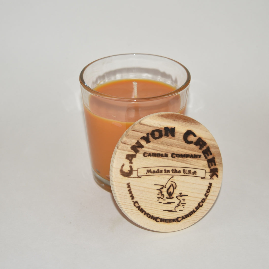 Orange Vanilla 8oz tumbler jar candle