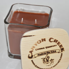 Load image into Gallery viewer, Spiced Caramel Coffee 14oz cube jar candle