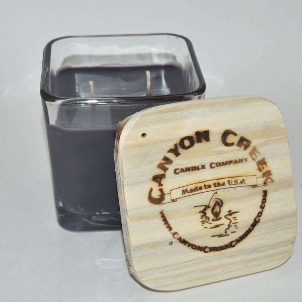 Warm Welcome 14oz cube jar candle
