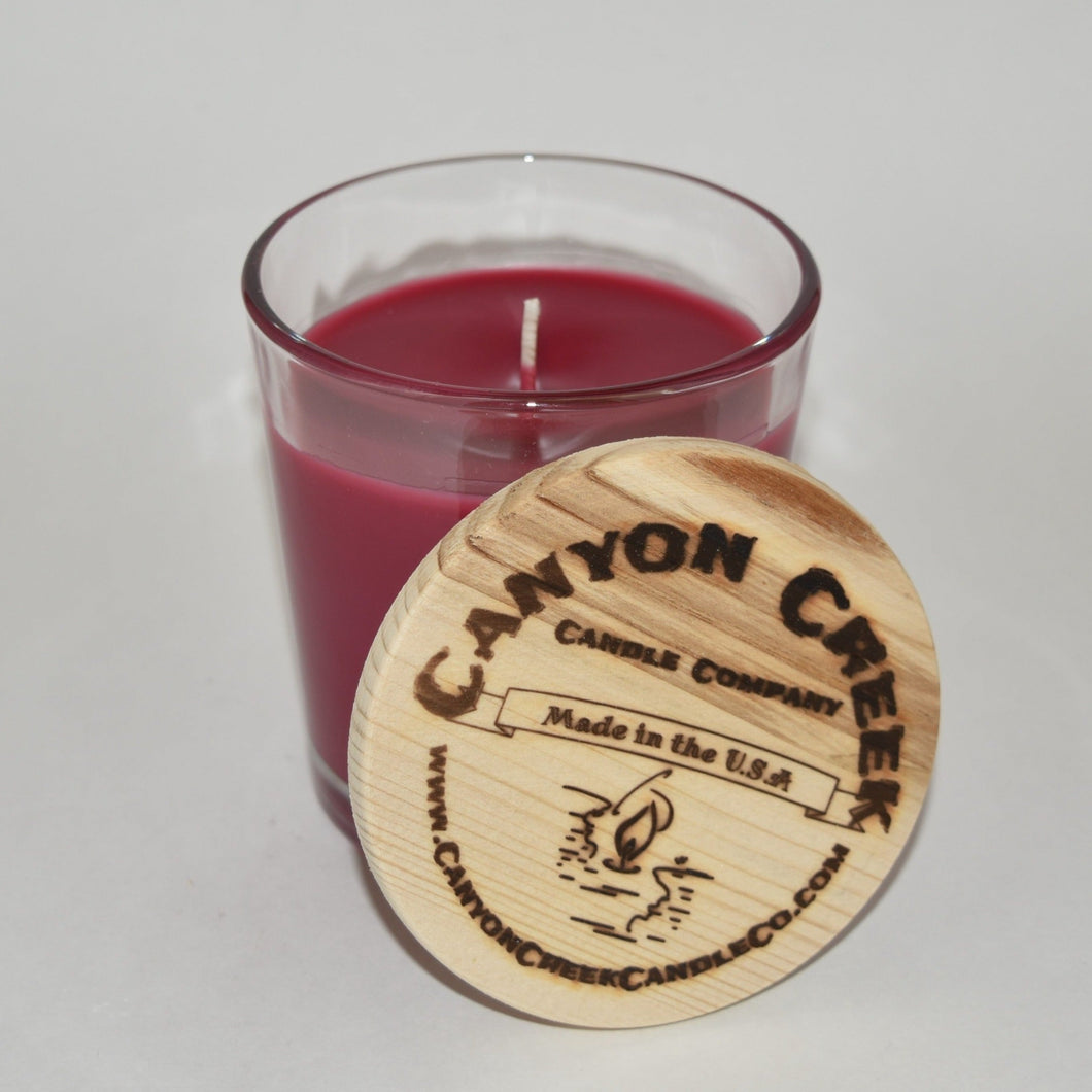 Wild Huckleberry 8oz tumbler jar candle