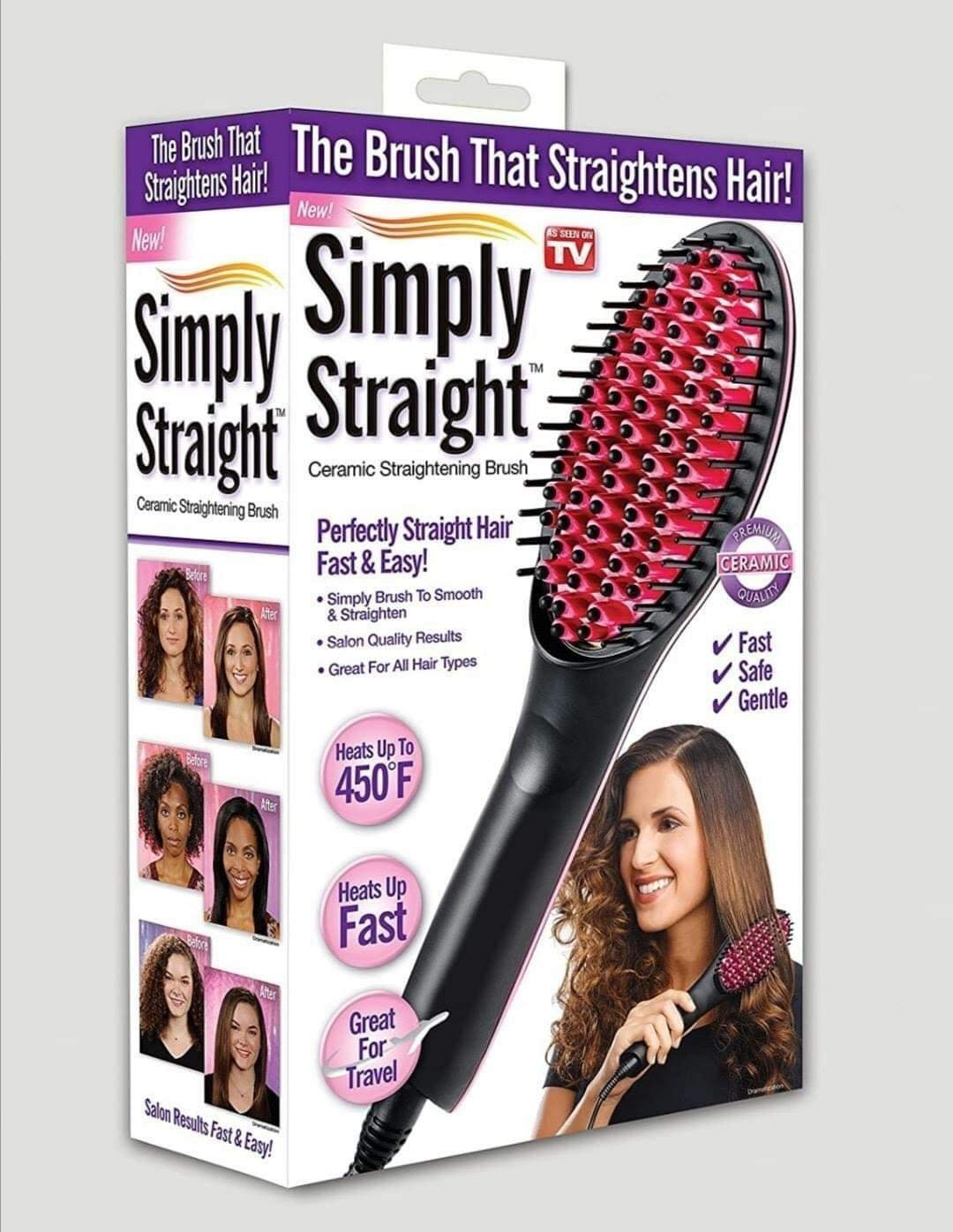 Simply Straight Ceramic Hair