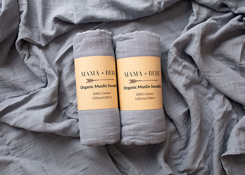 What is a cotton muslin swaddle?