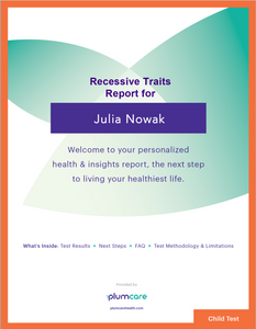 DNA Advisor+ Recessive Traits Status Report**