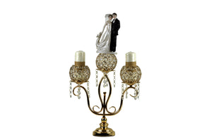 Candle Holder Stand 3 Arm Candelabra Table Centerpieces