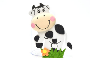 Baby Shower Party Favors  3D Cutouts Cow