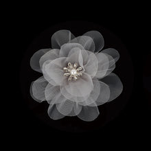 Load image into Gallery viewer, Organza Roses-Organza Flowers 4 Inches