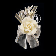 Load image into Gallery viewer, Gum Paste Roses-Flower Corsage For Wedding-Prom