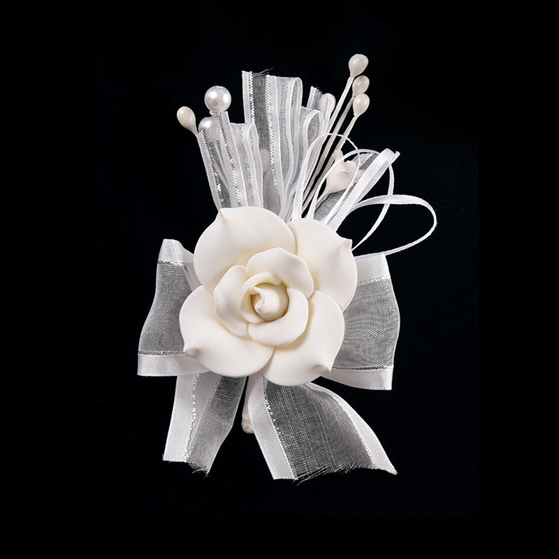 Gum Paste Roses-Flower Corsage For Wedding-Prom