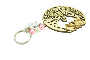 Baptism Party Favors Laser Cut Keychains Precious Moments
