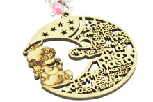 Load image into Gallery viewer, Baptism Party Favors Laser Cut Keychains Precious Moments