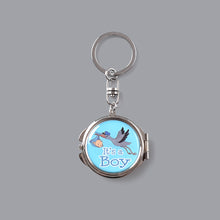 Load image into Gallery viewer, Mirror Keychain-Baby Shower Favors-Stork Figure Favors Gift