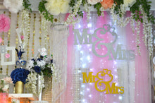 Load image into Gallery viewer, Wedding Banner-Jumbo Size Mr and Mrs Wedding Banner